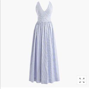 J. CREW Stripe Maxi Dress